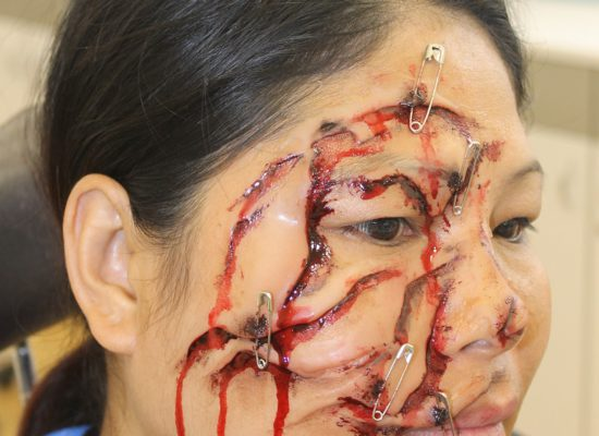 Special Effects (SFX) Makeup Demo_1_