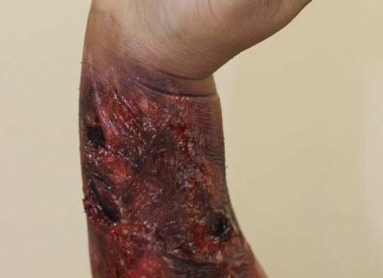 Special Effects (SFX) Makeup Demo_3